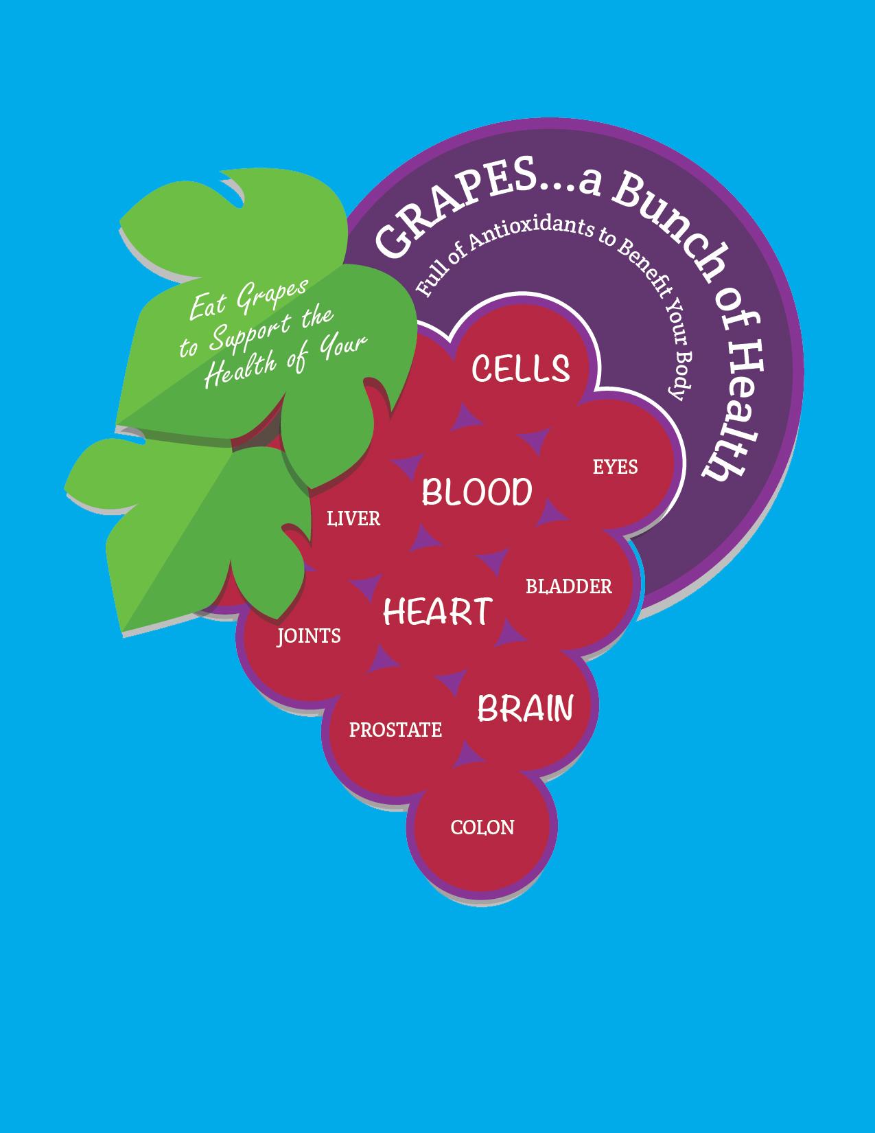 GrapeInfographic Health Benefits